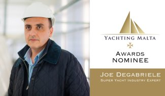 YACHTING MALTA AWARDS NOMINEES – JOE DEGABRIELE malta, Super Yacht Industry Network Malta malta