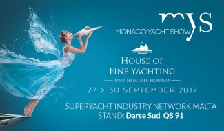 VISIT OUR STAND AT THE MONACO YACHT SHOW 2017 malta, Super Yacht Industry Network Malta malta